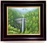 高級絵画「那智の滝」